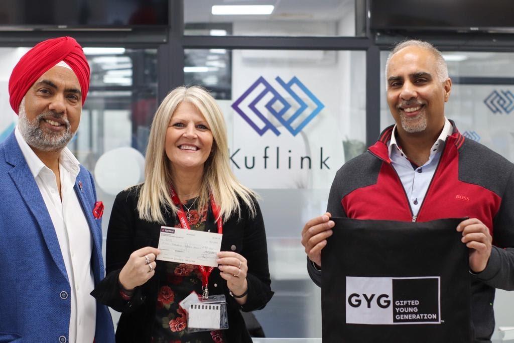 Rawinder Binning & Howdy Singh, founders of the Kuflink Foundation