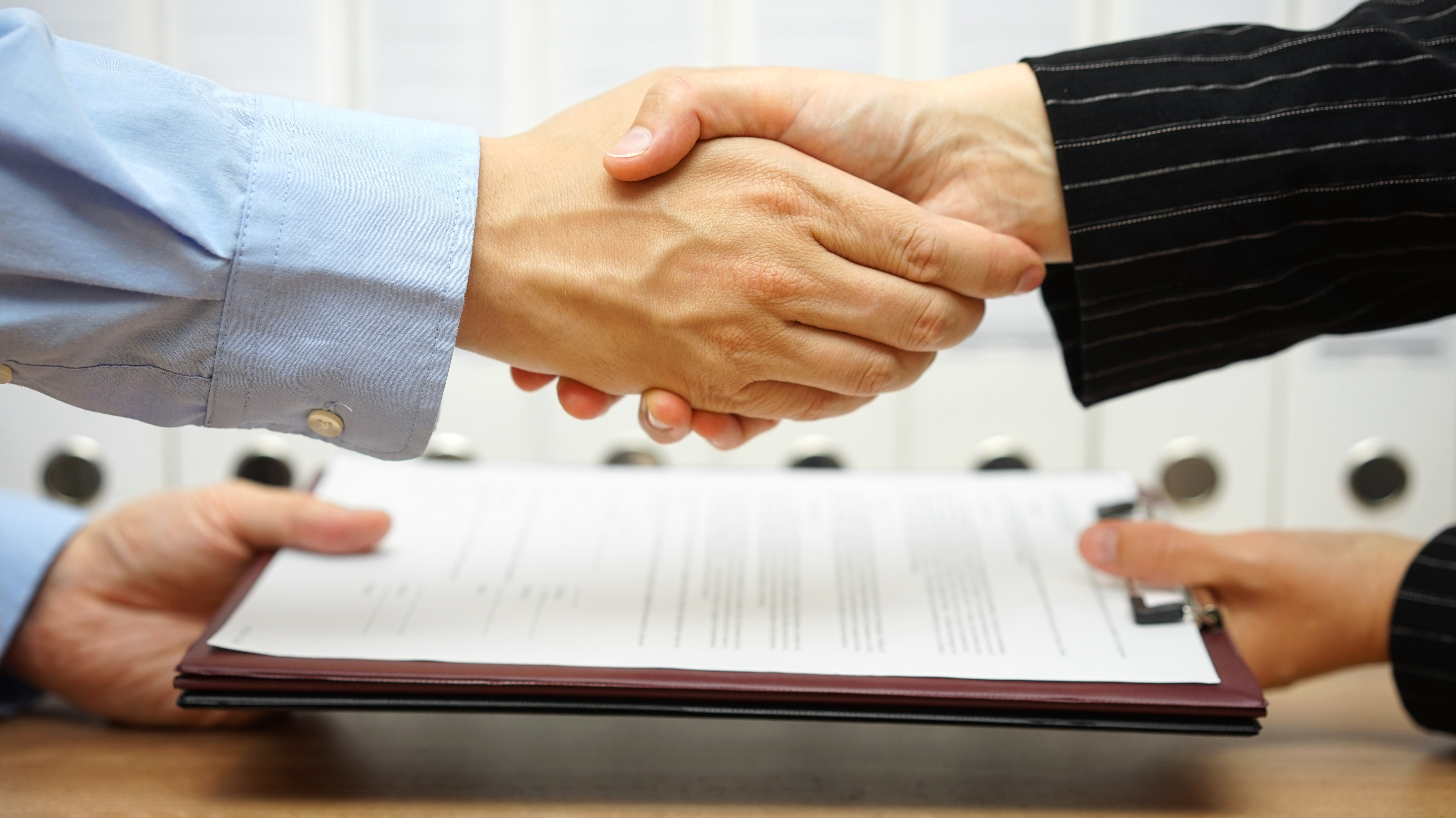 Exchange of Contracts