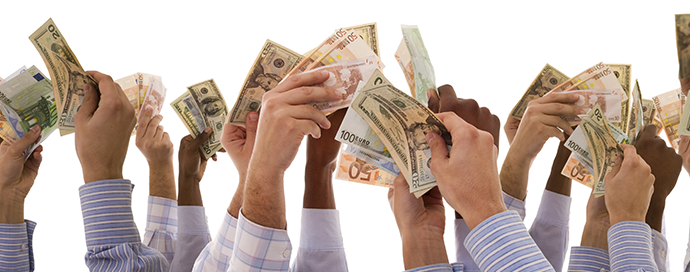 What is the difference between peer to peer lending and crowdfunding?